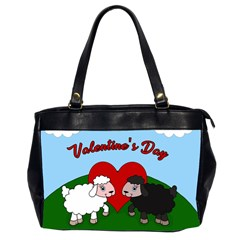 Valentines Day   Sheep  Office Handbags (2 Sides)