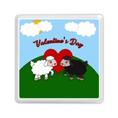 Valentines Day   Sheep  Memory Card Reader (square)