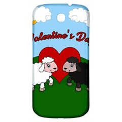 Valentines Day   Sheep  Samsung Galaxy S3 S Iii Classic Hardshell Back Case