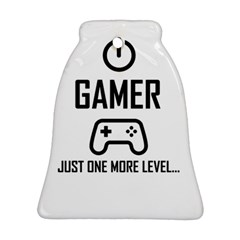 Gamer Bell Ornament (two Sides)