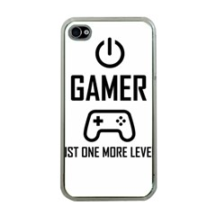 Gamer Apple Iphone 4 Case (clear)