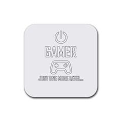 Gamer Rubber Coaster (square)