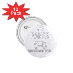 Gamer 1 75  Buttons (10 Pack)