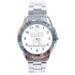 Gamer Stainless Steel Analogue Watch
