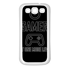 Gamer Samsung Galaxy S3 Back Case (white)
