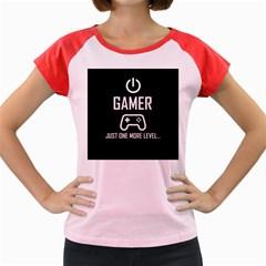 Gamer Women s Cap Sleeve T Shirt
