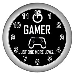 Gamer Wall Clocks (silver)
