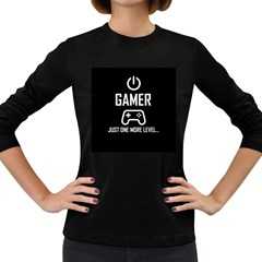 Gamer Women s Long Sleeve Dark T Shirts
