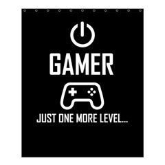 Gamer Shower Curtain 60  X 72  (medium)