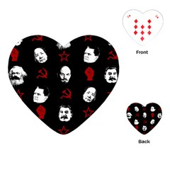 Communist Leaders Playing Cards (heart)