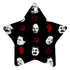 Communist Leaders Star Ornament (two Sides)