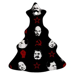 Communist Leaders Christmas Tree Ornament (two Sides)