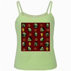 Communist Leaders Green Spaghetti Tank