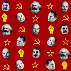 Communist Leaders Canvas 20  X 20