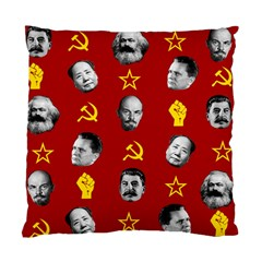 Communist Leaders Standard Cushion Case (two Sides)