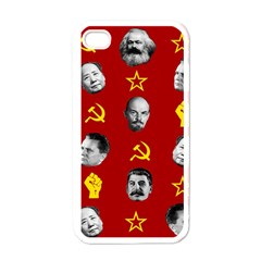 Communist Leaders Apple Iphone 4 Case (white)