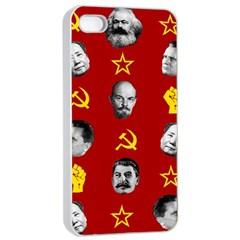 Communist Leaders Apple Iphone 4/4s Seamless Case (white)