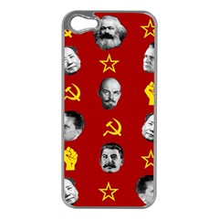 Communist Leaders Apple Iphone 5 Case (silver)