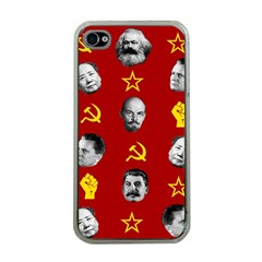Communist Leaders Apple Iphone 4 Case (clear)