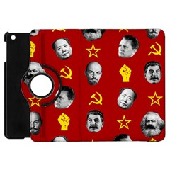 Communist Leaders Apple Ipad Mini Flip 360 Case