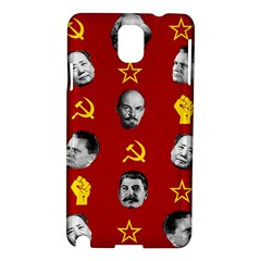 Communist Leaders Samsung Galaxy Note 3 N9005 Hardshell Case