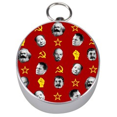 Communist Leaders Silver Compasses