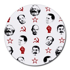 Communist Leaders Round Mousepads