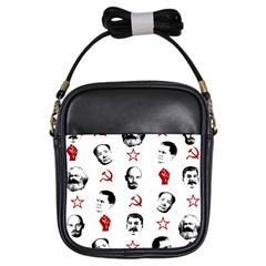 Communist Leaders Girls Sling Bags