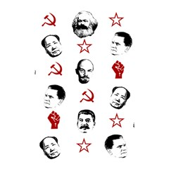 Communist Leaders Shower Curtain 48  X 72  (small)