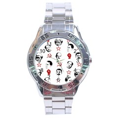 Communist Leaders Stainless Steel Analogue Watch