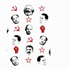Communist Leaders Small Garden Flag (two Sides)