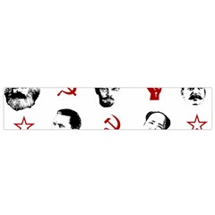 Communist Leaders Small Flano Scarf