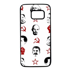 Communist Leaders Samsung Galaxy S7 Black Seamless Case