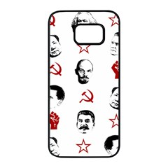 Communist Leaders Samsung Galaxy S7 Edge Black Seamless Case