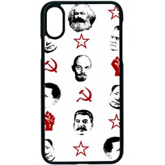 Communist Leaders Apple Iphone X Seamless Case (black)