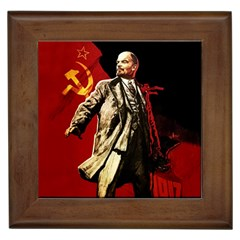 Lenin  Framed Tiles