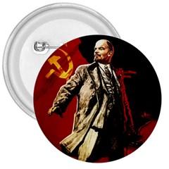 Lenin  3  Buttons