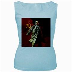 Lenin  Women s Baby Blue Tank Top