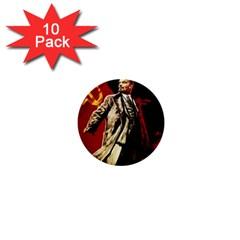 Lenin  1  Mini Buttons (10 Pack)