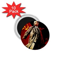 Lenin  1 75  Magnets (10 Pack)