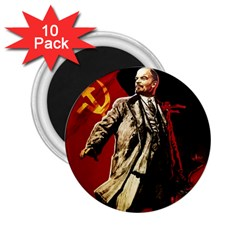 Lenin  2 25  Magnets (10 Pack)