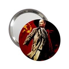 Lenin  2 25  Handbag Mirrors