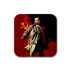 Lenin  Rubber Coaster (square)
