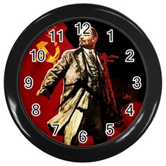 Lenin  Wall Clocks (black)