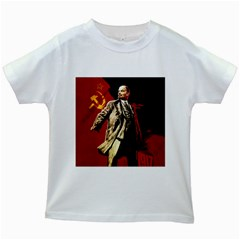 Lenin  Kids White T Shirts