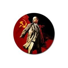 Lenin  Magnet 3  (round)