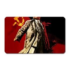 Lenin  Magnet (rectangular)