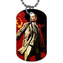 Lenin  Dog Tag (one Side)
