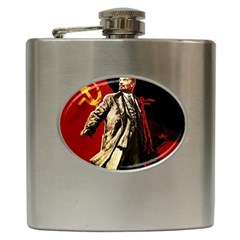 Lenin  Hip Flask (6 Oz)