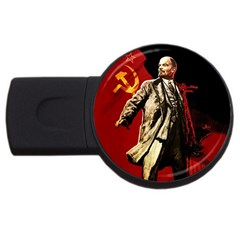 Lenin  Usb Flash Drive Round (2 Gb)